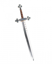 Medieval Knight Sword With Jewels