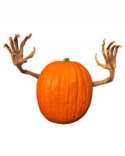 Moldy pumpkin arms