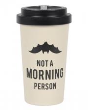 Morning Grumpy To Go Bamboo Mug