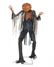 Glowing Pumpkin Scarecrow Animatronic