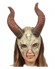 Mystic Beast Skeleton Half Mask