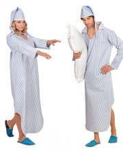 Kostüm Nachthemd mit Mütze