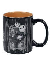 Nightmare Before Xmas Jack & Zero Tasse