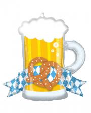 Oktoberfest Beer Mug Foil Balloon
