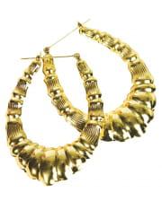 Old School Rap Girl Earrings
