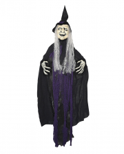Old Witchy XXL Hanging Decoration Purple