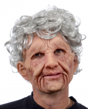 Grandma mask made of soft latex