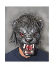 Panther latex mask