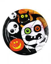 Paper plates Halloween Monster 8
