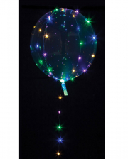Party Kugel Ballon mit bunter LED Lichterkette