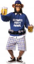 Party Affe Kostüm