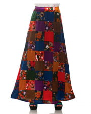 Patchwork Costume Skirt