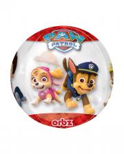 Paw Patrol Orbz Folienballon