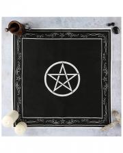 Pentagram Wicca Altar Cloth 70x70 Cm