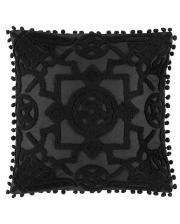 Pentagramm Kissenbezug Blair Burnout 45x45cm