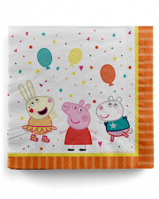 Peppa Pig Napkins 16 Pcs.