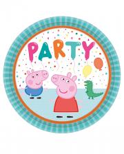 Peppa Pig Paper Plate 23 Cm 8 Pcs.