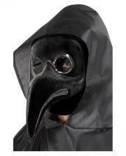 Pest Doktor Schnabelmaske schwarz