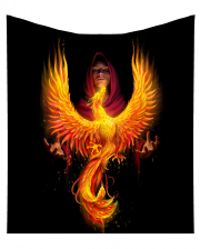 Phoenix Rising Bedspread