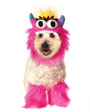 Pink Monster Dog Costume