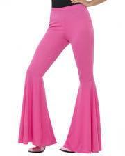 Damen Schlaghose pink