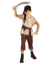 Pirate costume with headband