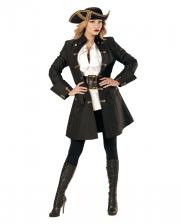 Piraten Kapitän Kostümmantel für Damen