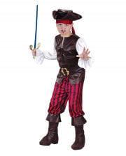 Pirates Deluxe Child Costume. M