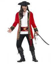 Pirate Captain Plus Size Costume