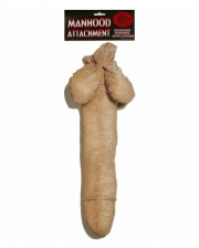 Funny Penis Made Of Plush To Strap On