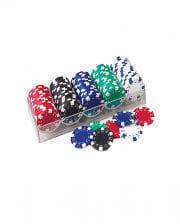 Poker Spiel Chips 100 Stk.