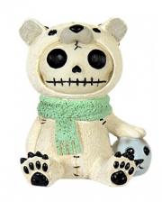 Polar Bär Furrybones Figur klein