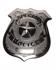 Police Badge Metal