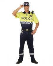 Spanischer Polizist Kostüm