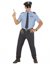 Polizist Herrenkostüm 5-tlg.