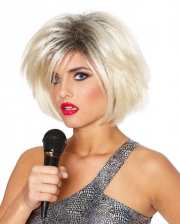 Pop Star Wig 80s Blonde