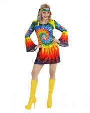 Psychedelic Hippie Girl Kostüm