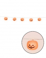 Pumpkin Light Chain With 12 LEDs 180 Cm