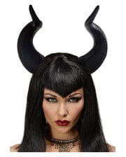 Dark maleficent fairy horns