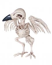 Raven Skeleton Halloween Figure 19 Cm