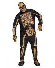 Realistic Skeleton Bones Costume Plus Size
