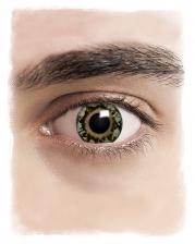 Realistische Grüne Cosplay Kontaktlinsen