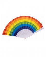 Regenbogen Fächer