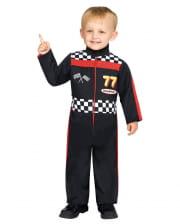 Rennfahrer Kleinkinderkostüm