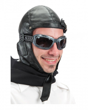 Retro Pilot Cap Black