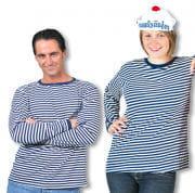 Striped Jumper Blue White