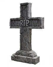 RIP Gravestone Cross Halloween Decoration