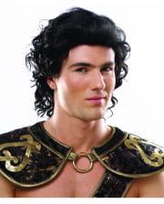 Roman Warrior Wig Black