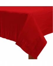 Rote Papiertischdecke 1,37 x 2,74 m