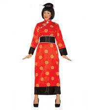 Red Geisha Kimono